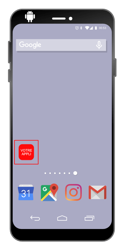 Intallation d'une progressive web app sur Android : étape 3