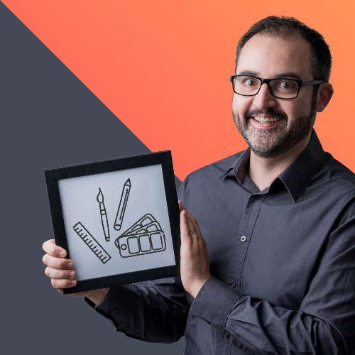 Simon Linsolas, formateur graphisme pour Ambition-web