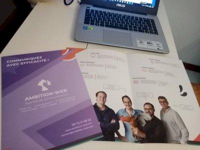 Des nouvelles brochures pour notre agence !