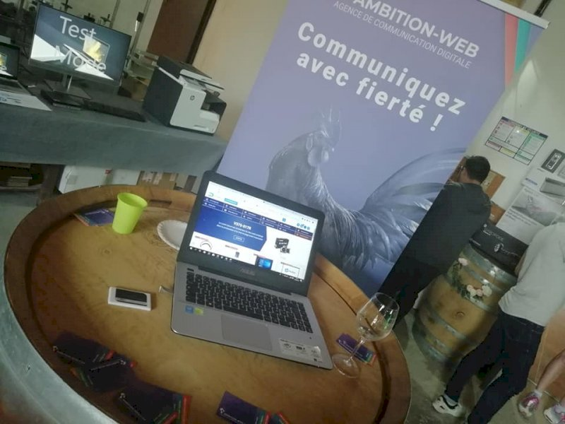 Salon organisé chez notre client Infodistrib