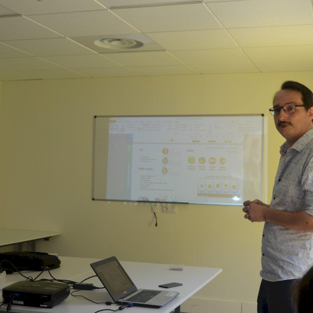 La communication digitale / ZA Agroparc
