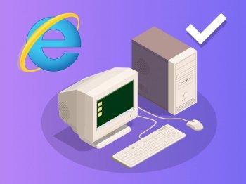 Adaptation à Internet Explorer