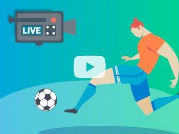Diffusion de vos matchs en vidéo streaming