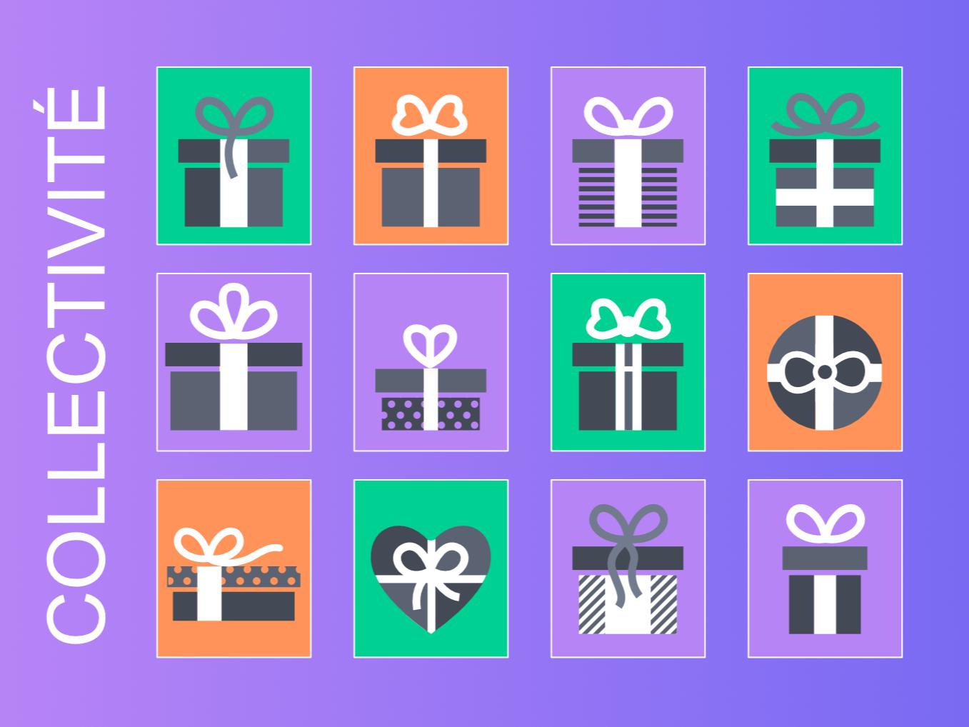 Collectivités : créez votre liste d'idées cadeaux en ligne