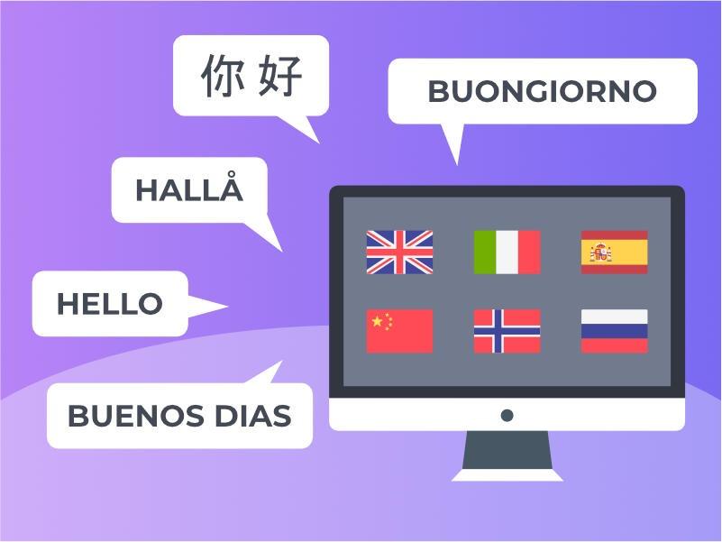 Intégration d'une langue traduite